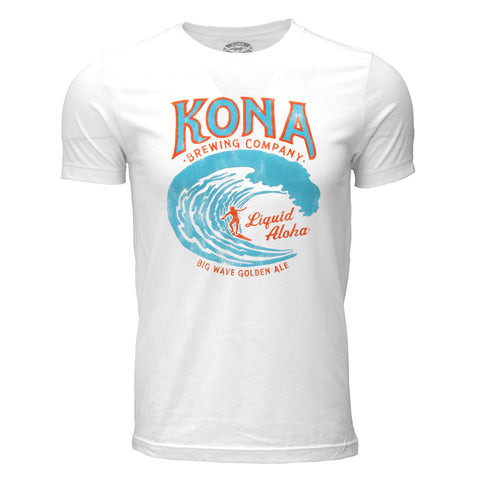 Kona Big Wave Tee - White