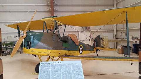 DeHaviland-82 Tiger Moth