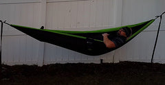 relaxing in my hammock