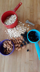 oat ingredients for backpacking breakfast