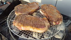 Steaks on the Grill Dutch Oven Style