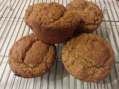 Sweet Potato Oat Muffins for Hiking