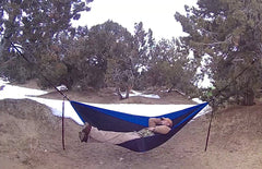 chilin in my hammock