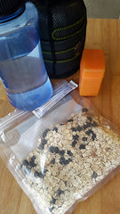 pre-packed oatmeal for camping