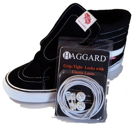 No Tie Laces Grip-Tight Elastic Locking Shoelaces - wadehaggard.com - 1