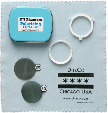 Circular & Linear Polarizing Filter Kit for DJI Phantom