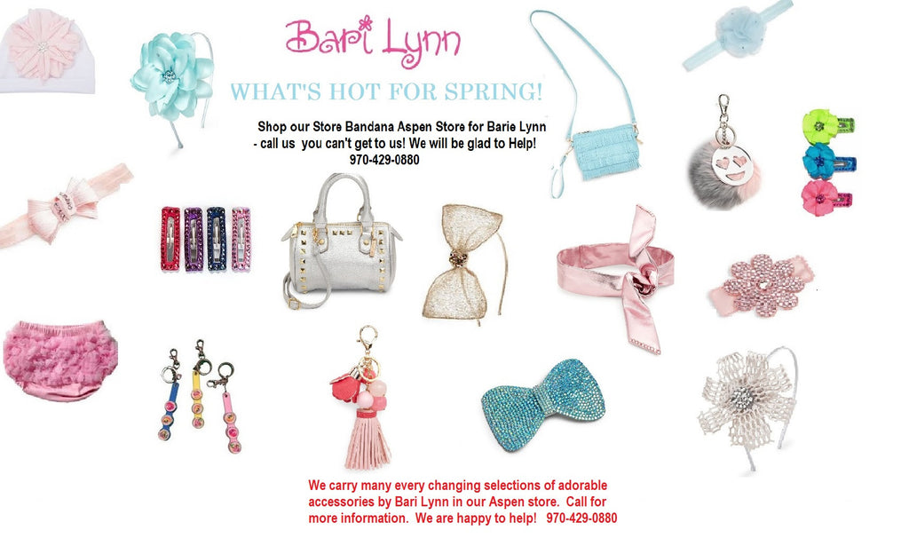 What's hot for Spring & Summer?  Accessorize your little ones with our help!