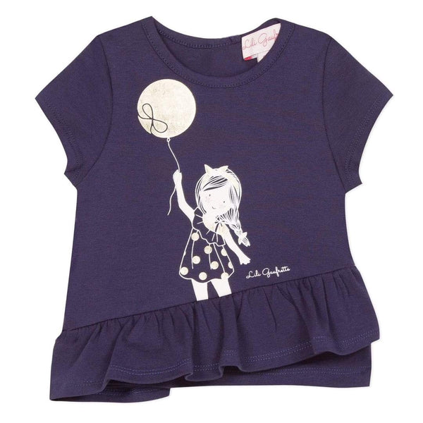 Navy Balloon T-Shirt