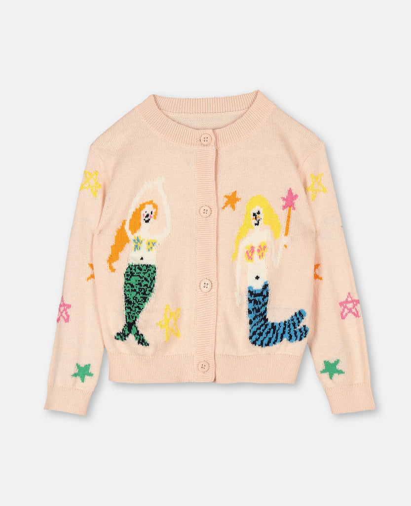 Mermaids Knit Cardigan