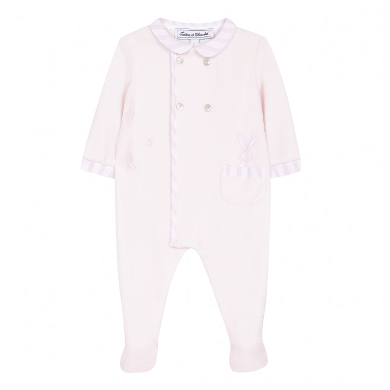 Pale Pink Velvet Rabbit Layette