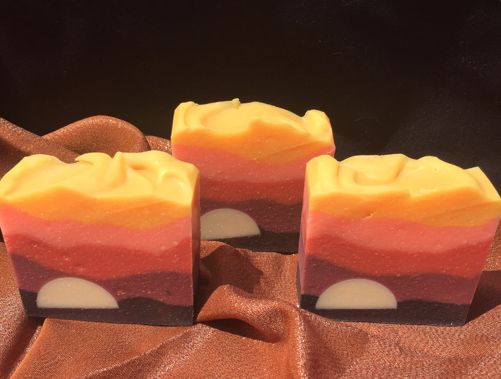 Saharan Sunset Soap