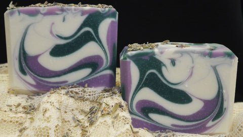 Triple Butter Lavender Bath Soap