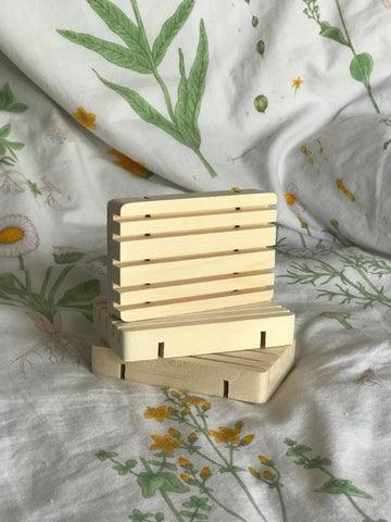 Cedar Wood Soap Dishes