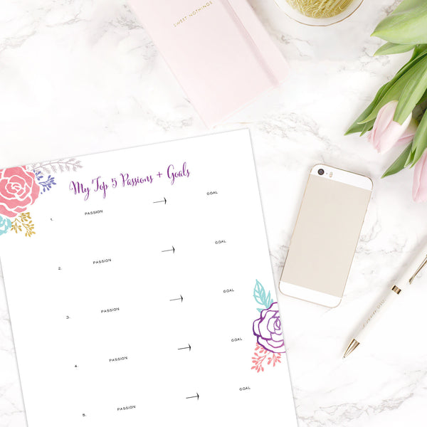 The Brilliant Business Planner - Printable