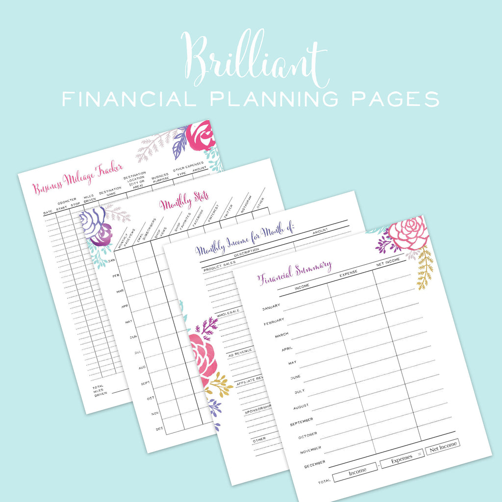 photo about Printable Life Planner named The Outstanding Workplace Planner - Printable
