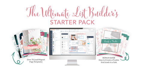 The Ultimate List Builder's Template Pack - Starter