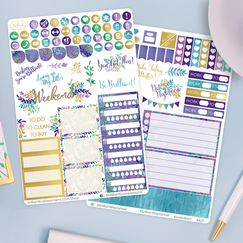 Leaves and Branches Planner Sticker Set