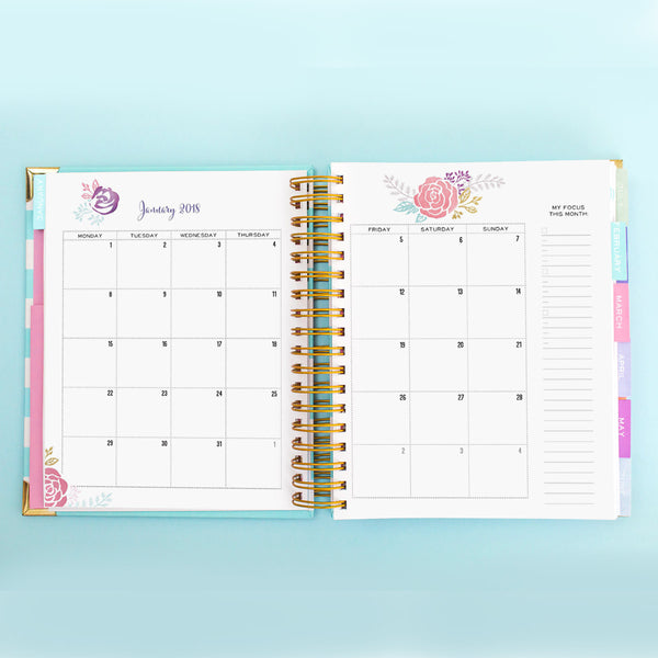 Brilliant Life Planner - Floral Cascade
