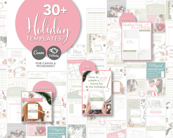 Holiday Freebie Creation + Promo Templates