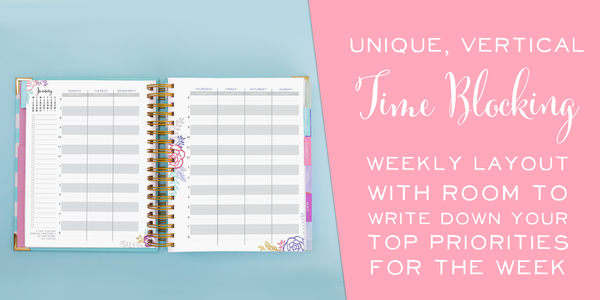 Brilliant Life Planner - Blue Stripe
