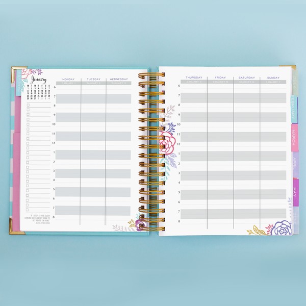 Brilliant Life Planner - Leaves and Branches