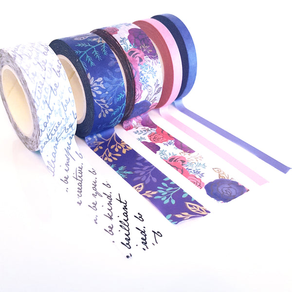 Brilliant Washi Tape Set