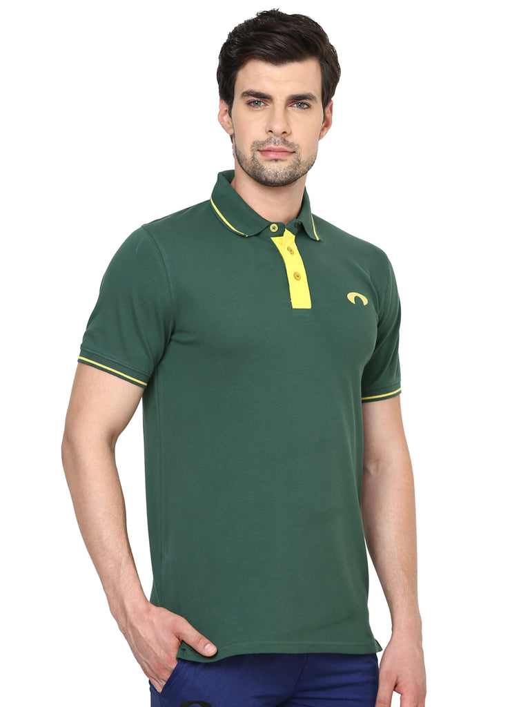 Arc Green Wave Polo Tee