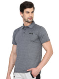 Grey Grindle Polo T-Shirt