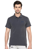 Dotted Blue Polo T-Shirt