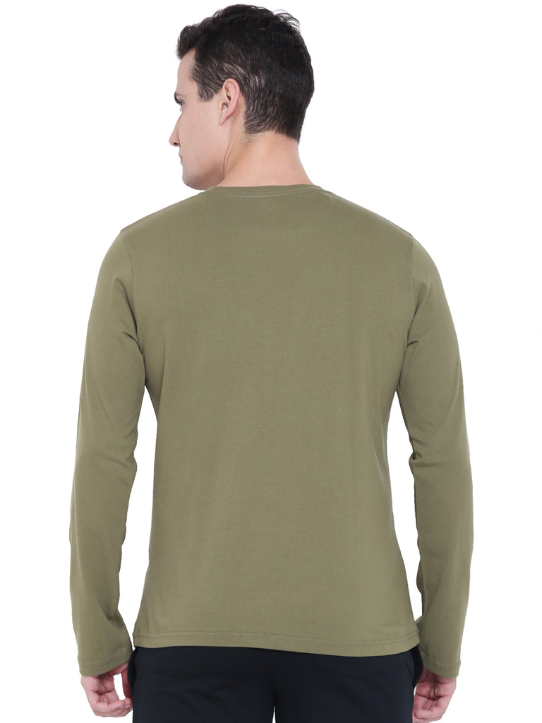 Arc Olive Full Sleeves Tee