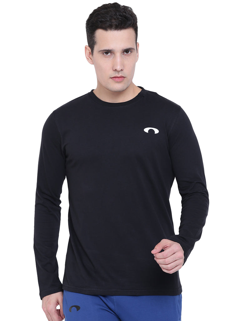 Arc Black Full Sleeves Tee
