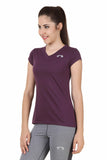 Arc Solid Purple Top - arcley.com - 2