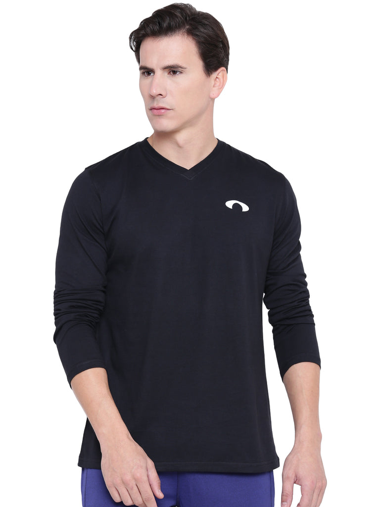 Arc Black V Full Sleeves Tee