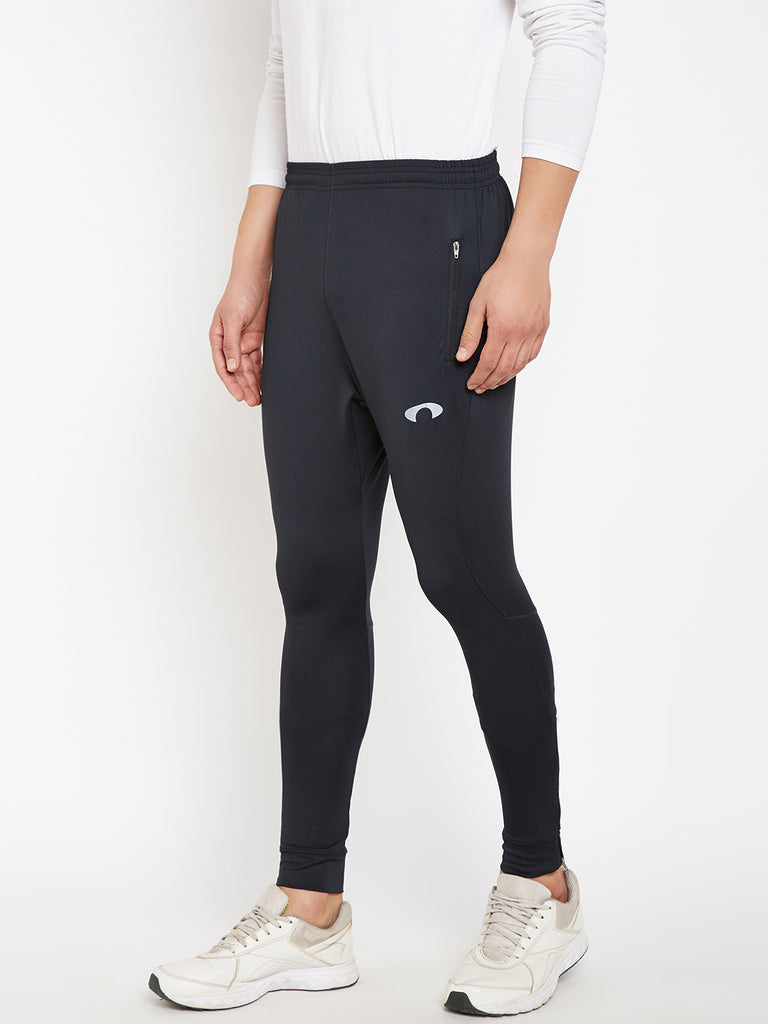 Arc Fit Black Trackpant