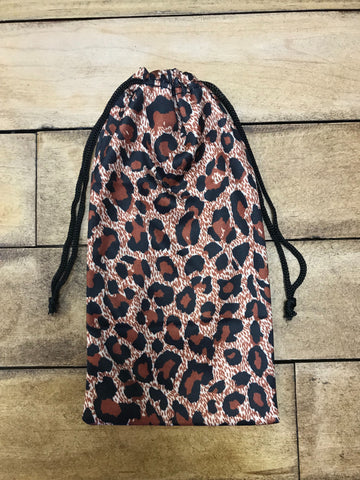 Leopard Sunglasses Bag