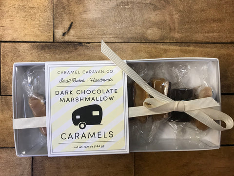 Caramel Caravan Co. Dark Chocolate Marshmallow Caramels
