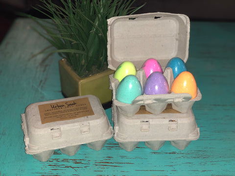 Egg Carton Bath Bombs