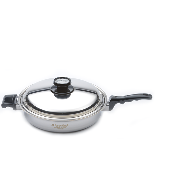 Lustre Craft Large Skillet with Cover