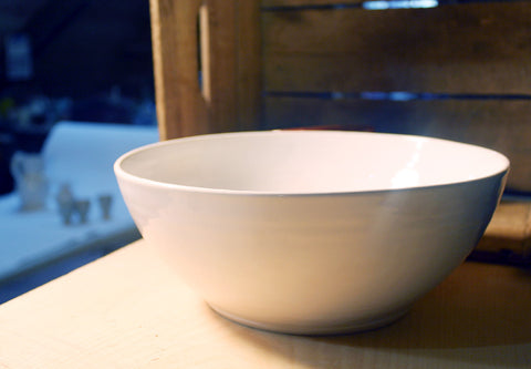 White Serving Bowl (large)