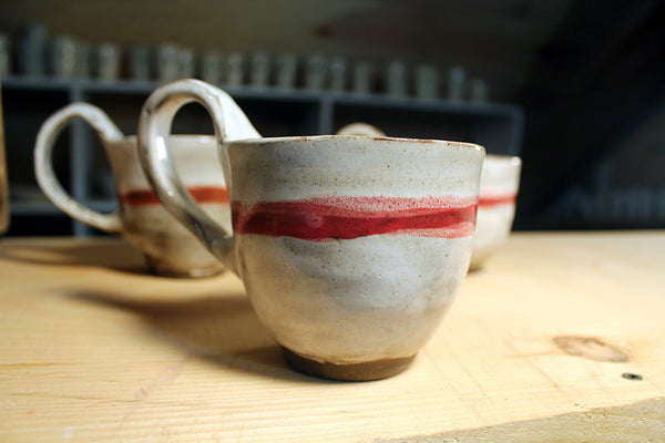 Red Stripe Mug