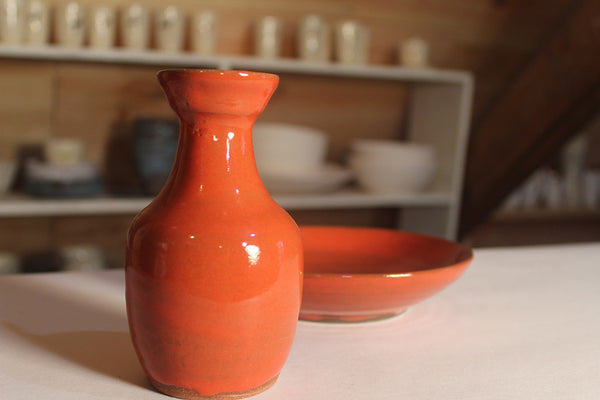 Red Vase (small)