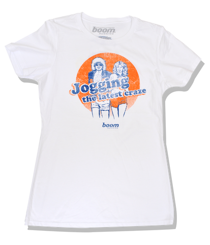 Womens' Jogging Craze Tee