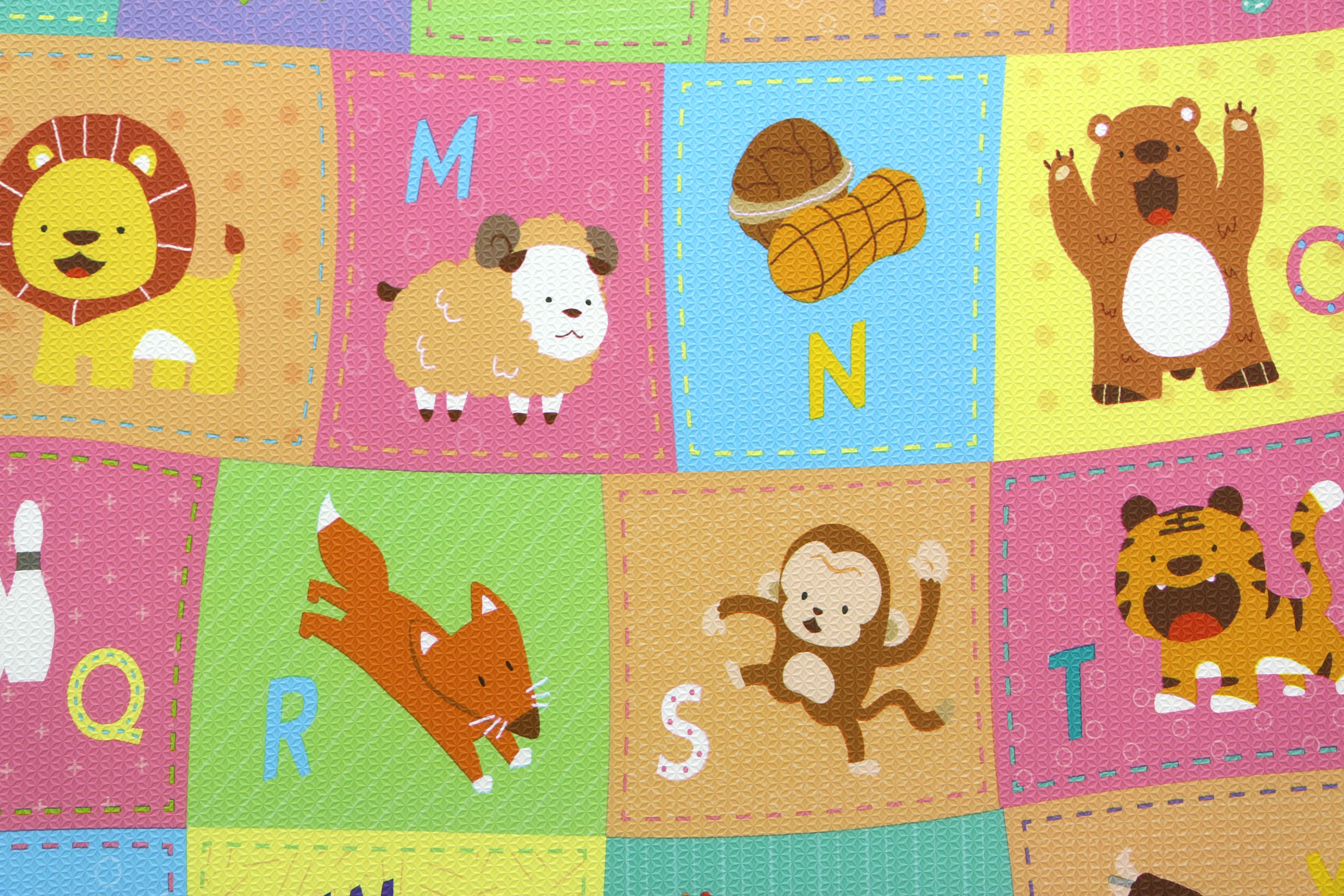 Tapis de jeu Baby Care - Ma Petit Ferme - French Edition