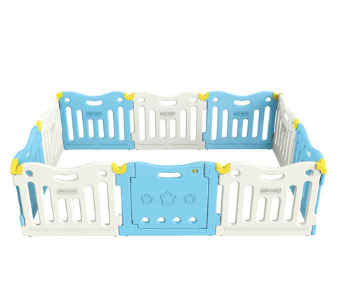 Baby Care FunZone Playpen - Sky Blue