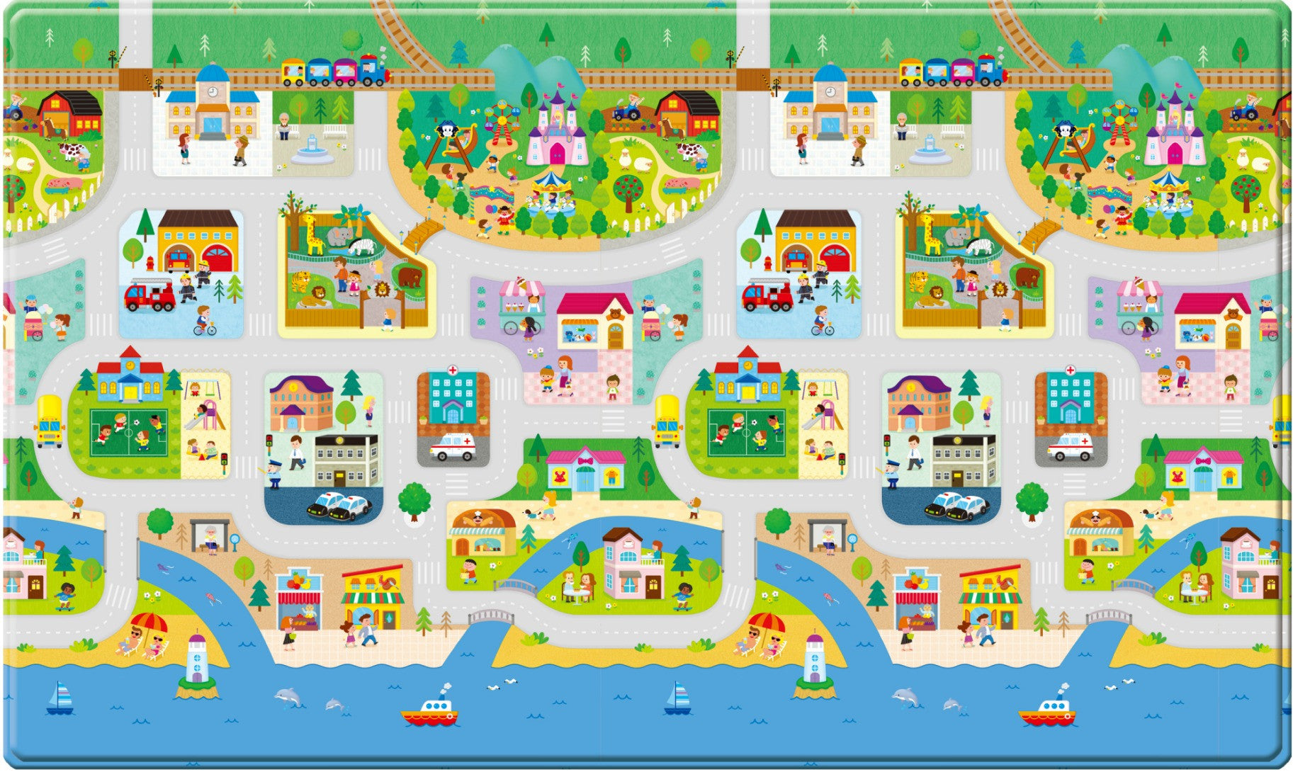 Dwinguler Play mat - Big Town Front