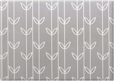 Baby Care Playmat - Sea Petals Grey - Large