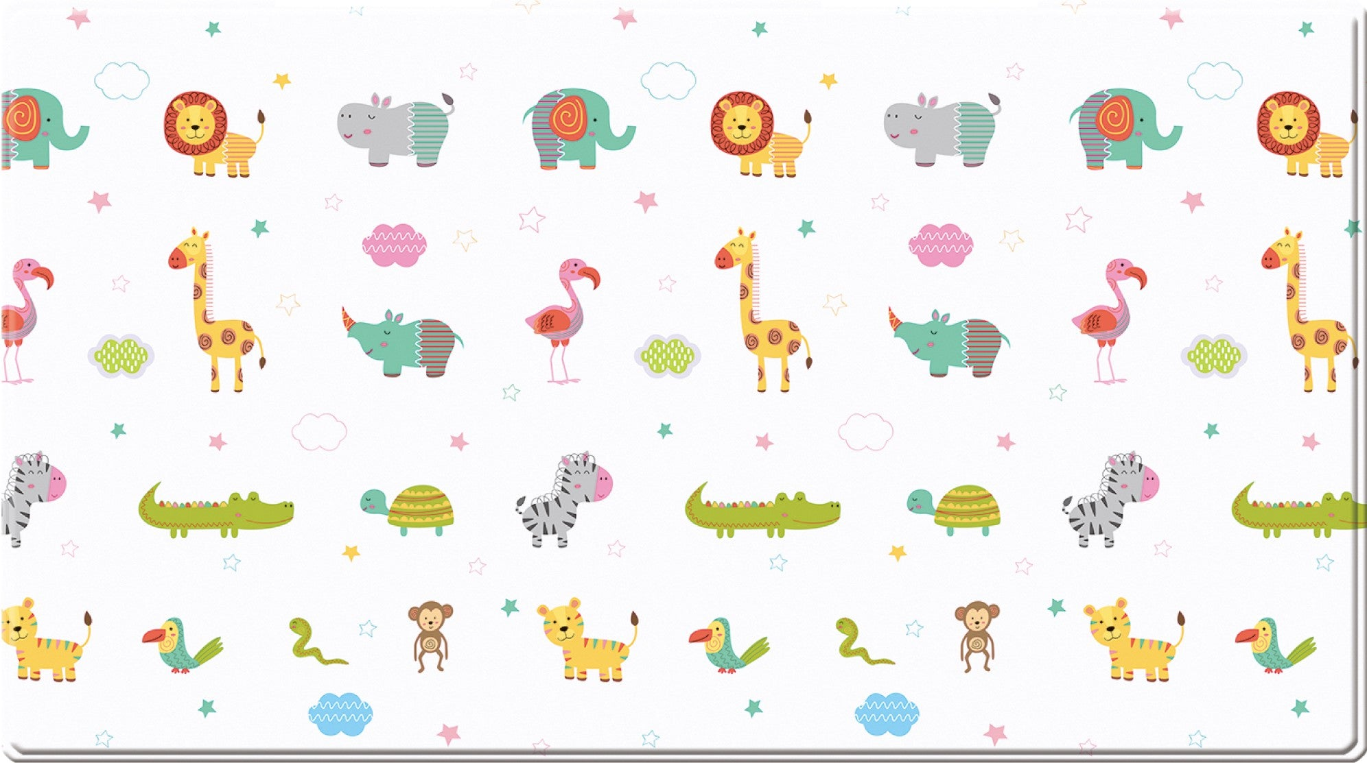 Dwinguler Playmat - Lovely Animal - Large