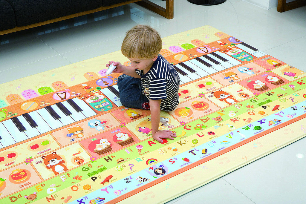 Reversible Dwinguler Sensory Playmat - Music Parade