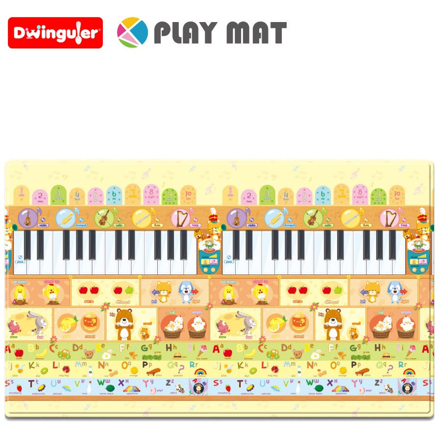Dwinguler Sensory Play mat - Music Parade Back