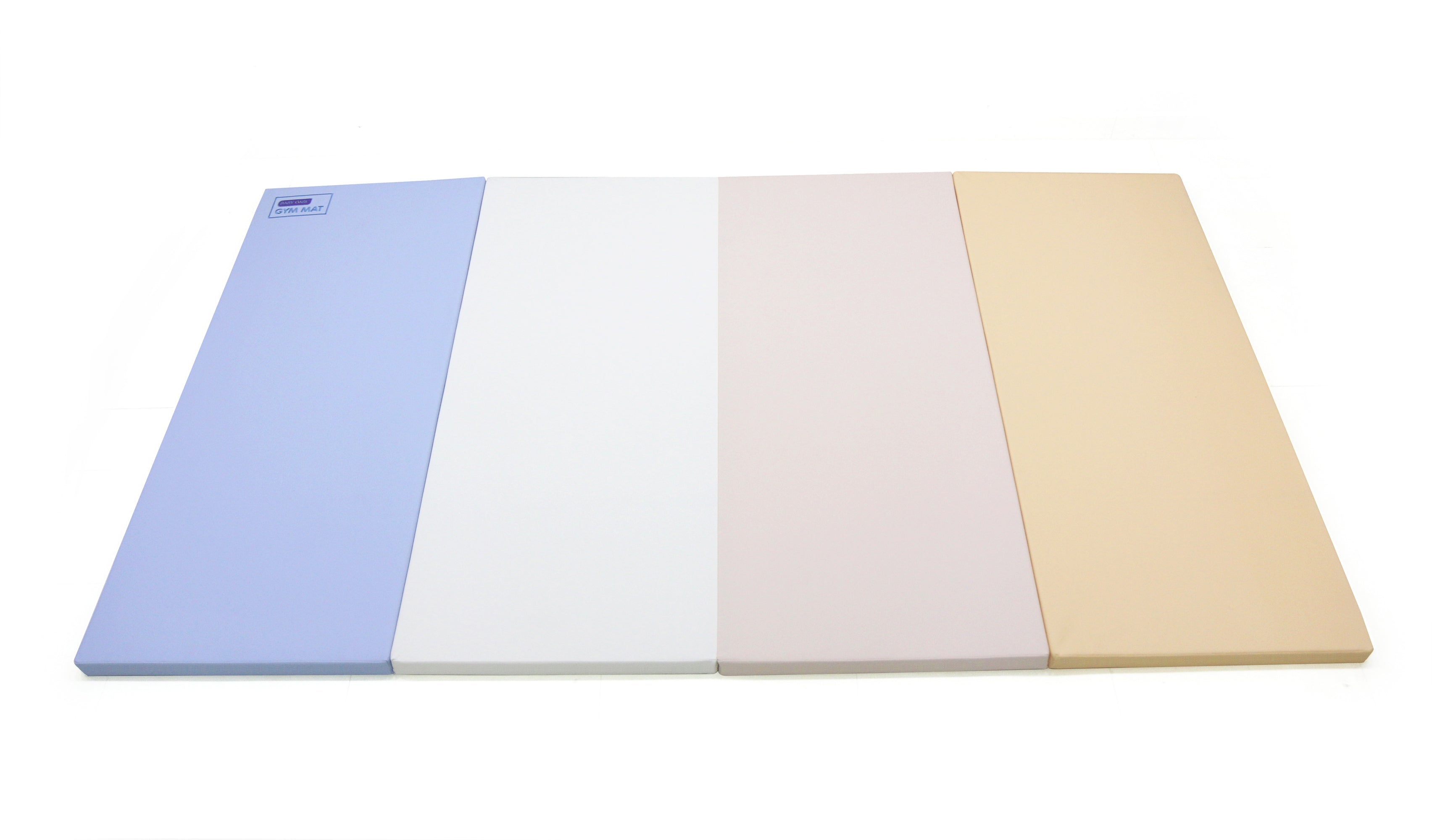 Baby Care Premium Tumbling Folding Mat - Pastel Blue - Large